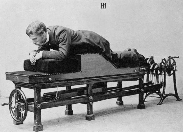 Спортивные тренажеры 19 века