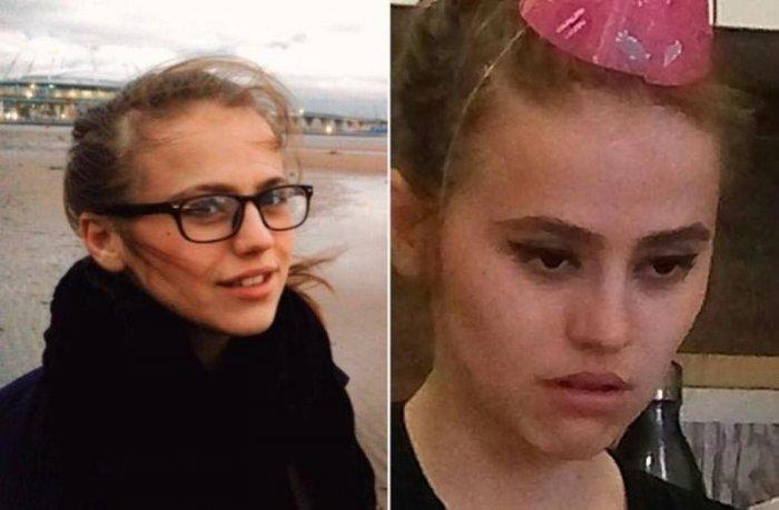 Девушки на аватаре в соцсети и в реальности