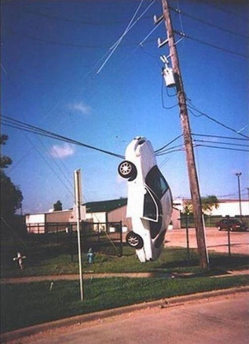 Тот момент, когда ты мастер парковки