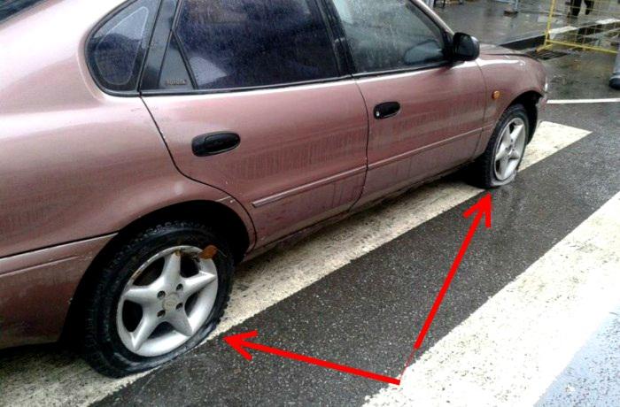 Самые серьезные предупреждения о неправильной парковке