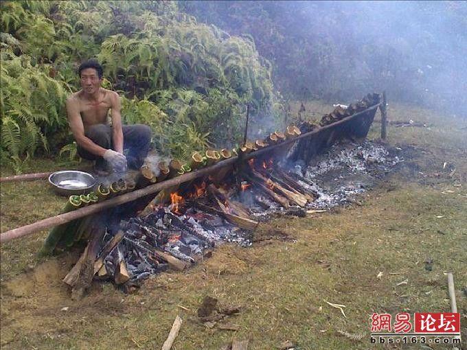 Как по праздникам делают шашлык в Китае