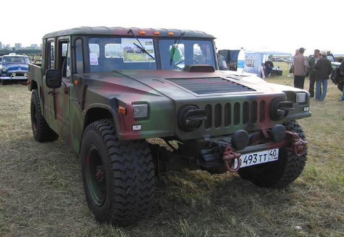 Как сделать Хаммер из старого ГАЗ-66