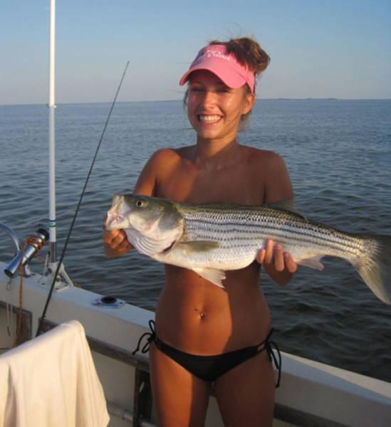 Девушкам тоже нравится рыбалка