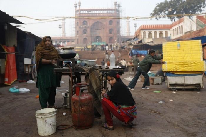 Фотографии реальной Индии