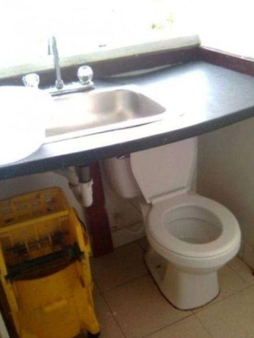 Подборка странных туалетов