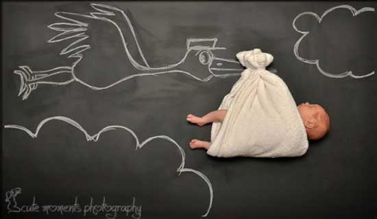 Прикольные фотосессии маленьких деток