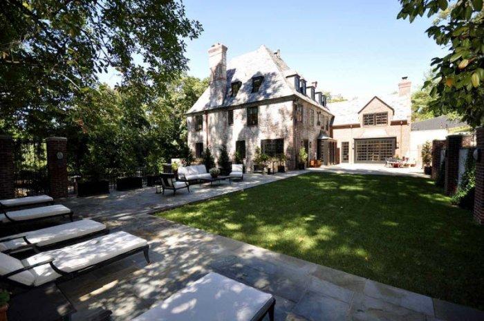 Дом Барака Обамы в Вашингтоне после президентского срока