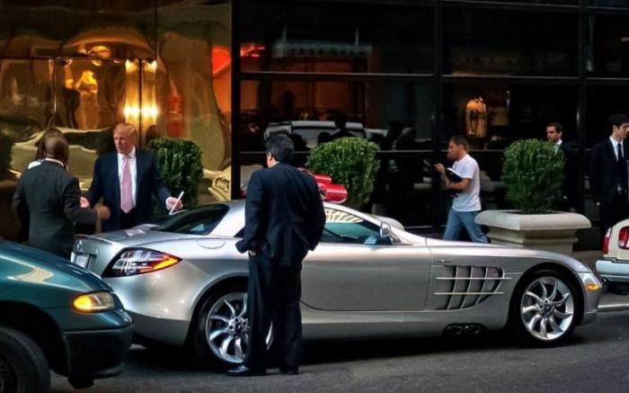 Автомобили Дональда Трампа