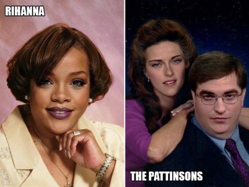 Если бы голливудские знаменитости были обычными людьми