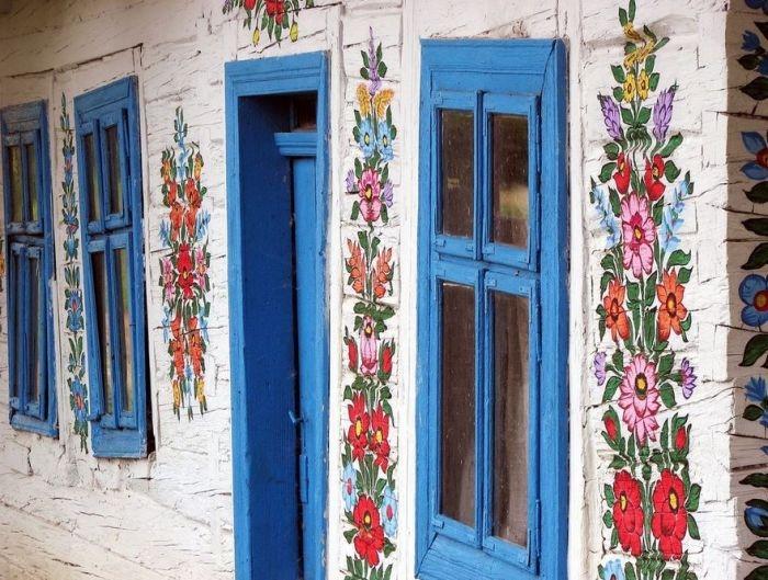 Залипье - самая расписная и красивая польская деревня