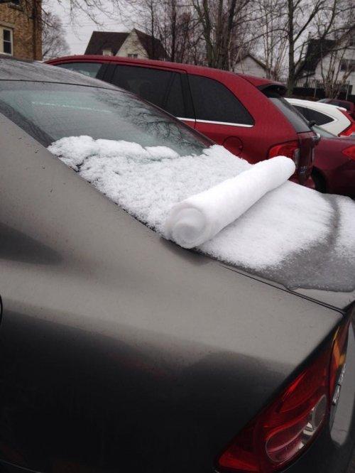 Снег. Он бывает таким разным