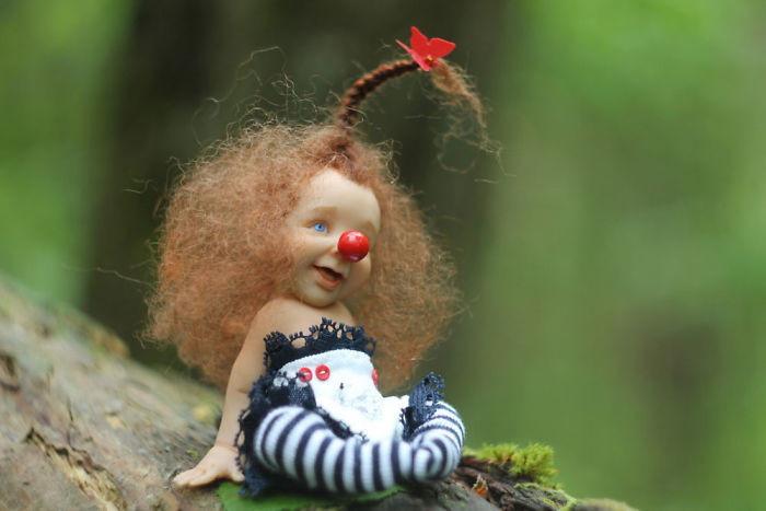 Прикольные куклы мастера Елены Кириленко