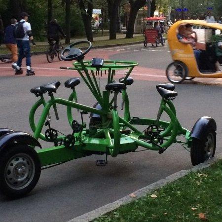 Оказывается можно все таки изобрести еще один велосипед