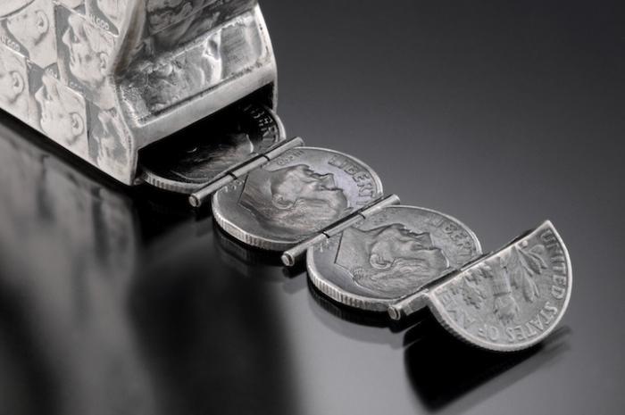 Что можно сделать из монет. Интересные изделия
