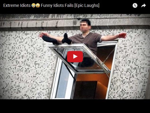 Идиоты и экстрим - сборник смешного видео