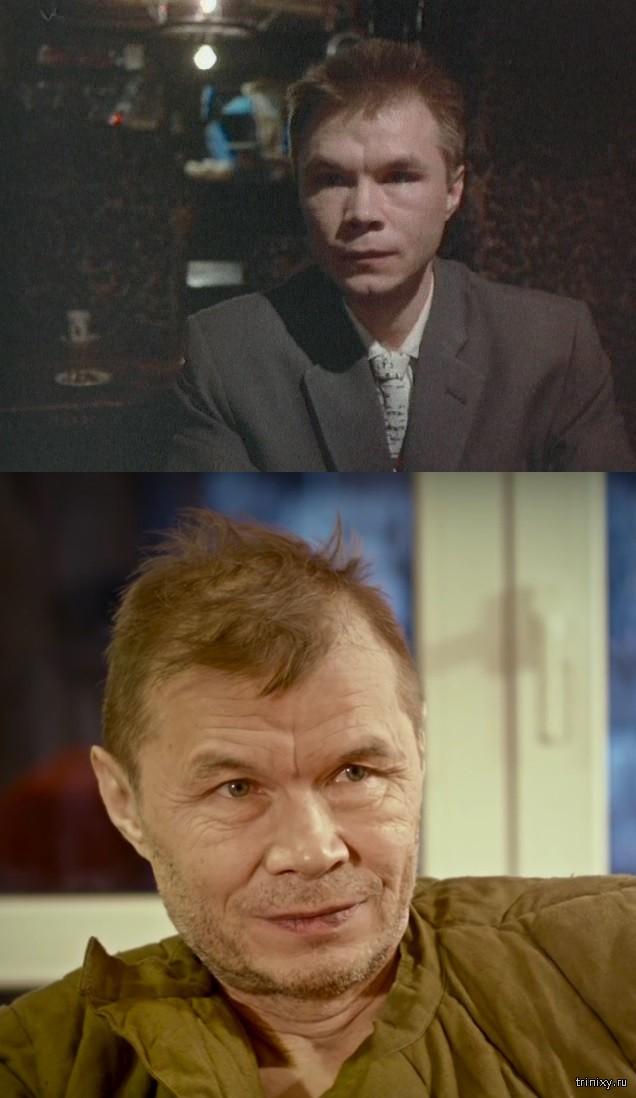 Российские знаменитости тогда и сейчас