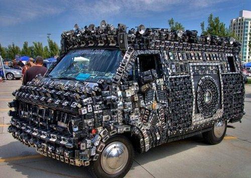 Самые сумасшедшие и странные автомобили