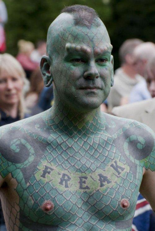 Расписные люди - когда татуировок мало не бывает