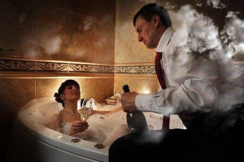 Сборник веселых свадебных фотоприколов