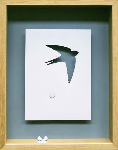 Креативные инсталляции из бумаги