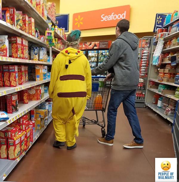 Самые экстравагантные покупатели в супермаркетах