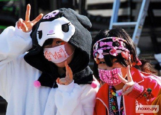 Как выглядят японские неформалы и фрики