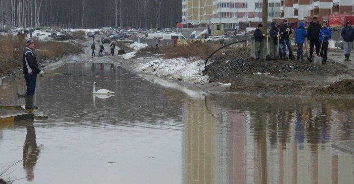 В Россию пришла весна, а вместе с ней ушел асфальт