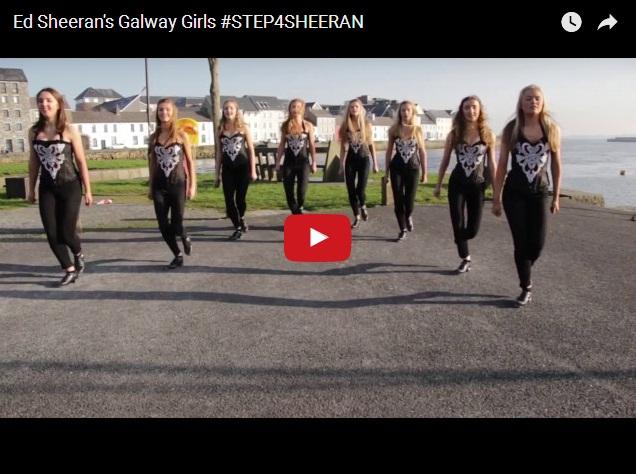 Зажигательный танец ирландских девушек