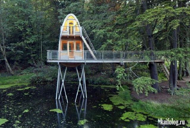 Фотографии самых креативных домов