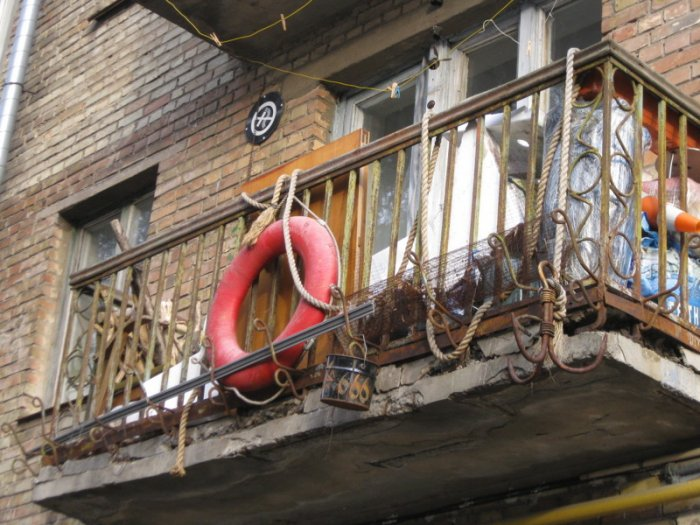 Самые эпичные балконы