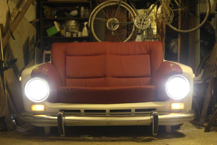 """Как сделать крутой диван из старой """"Копейки"""""""