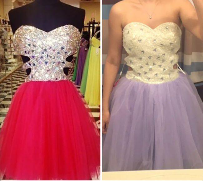 Ожидание и реальность. Никогда не покупайте платья в китайских интернет-магазинах!