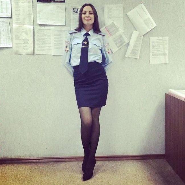 Самые красивые полицейские России