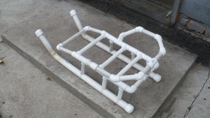 Полезные вещи из пластиковых труб