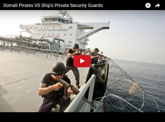 Как расстреливают сомалийских пиратов