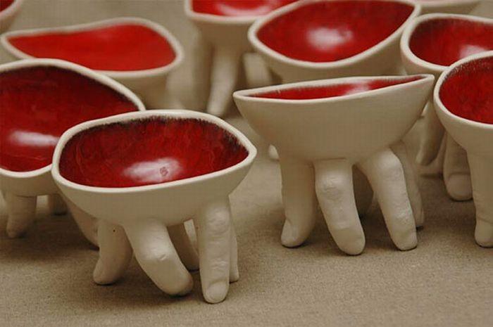 Жуткая дизайнерская посуда из которой страшновато есть