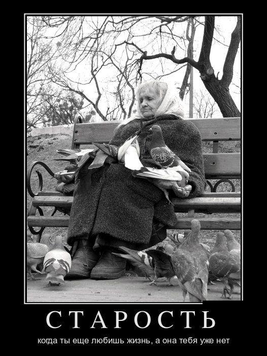 Про искренность, настоящую любовь и старость - свежие демотиваторы
