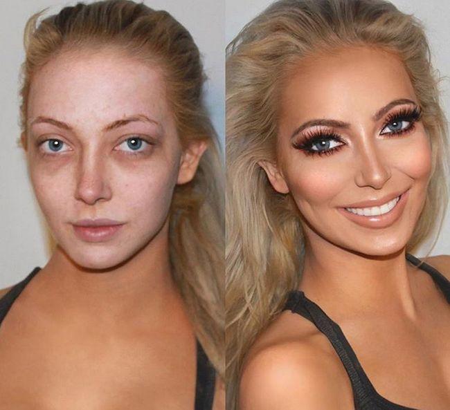 Изменение фотографий макияж