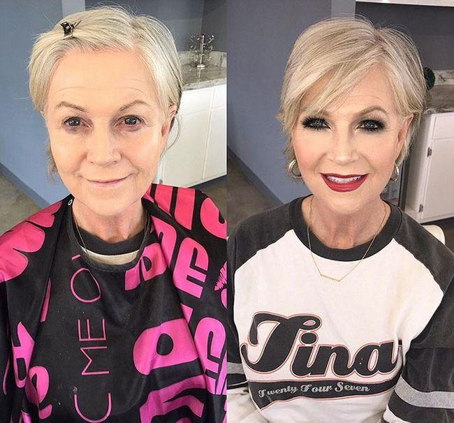 До и после макияжа - чудесные преображения