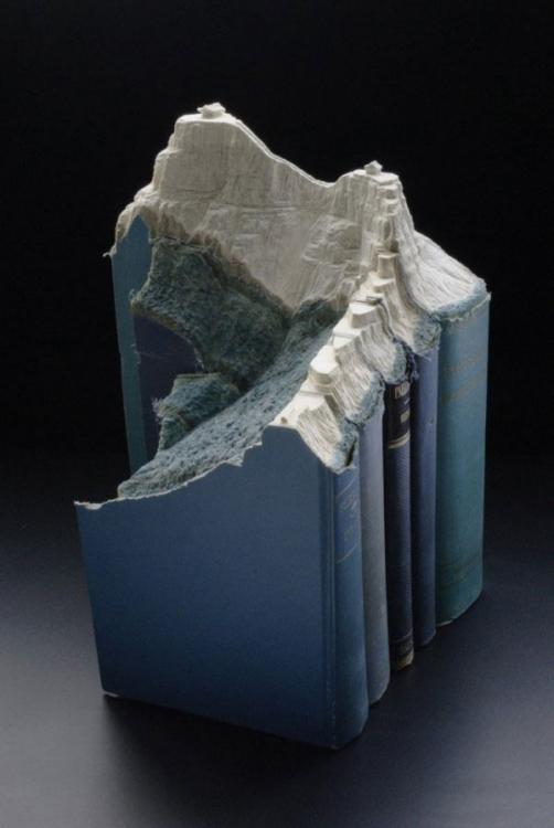 Прикольные горные пейзажи из старых книг