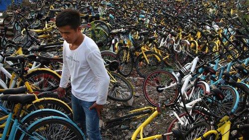 А вы видели кладбище велосипедов?