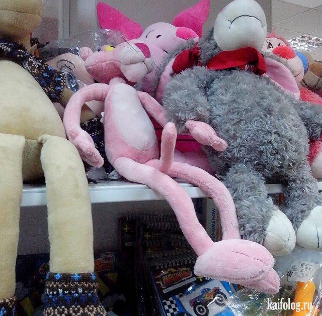 Самые странные и упоротые игрушки