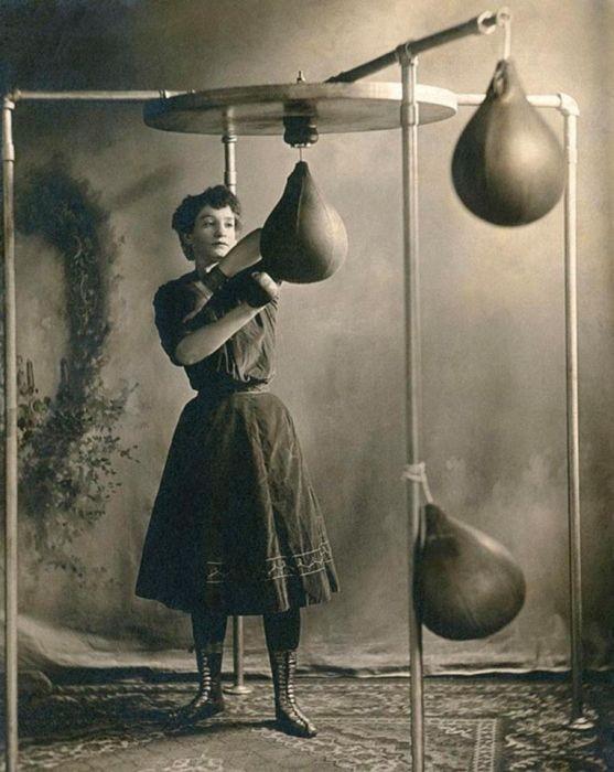 Женский бокс начала 20 века