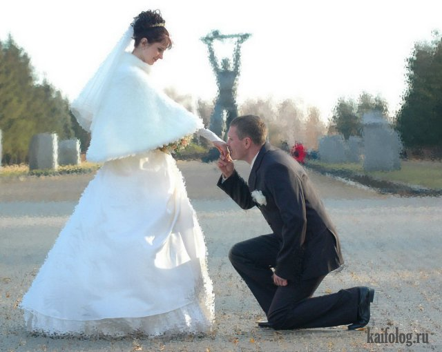 Ах эта свадьба.... Подборка свадебных приколов