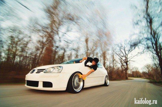 Свежие приколы про автомобили - ржачные фотографии