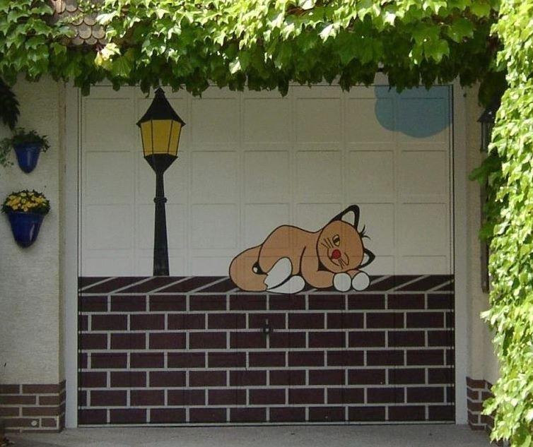Как раскрасить гараж