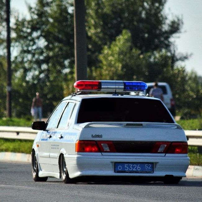 Полиция с необычного ракурса - забавные фотографии