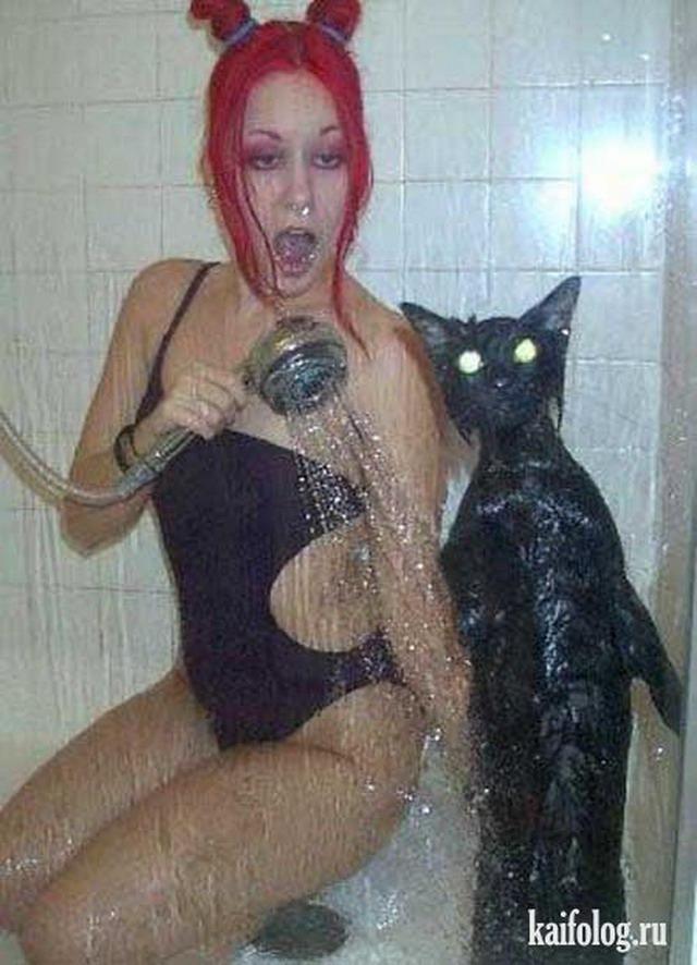Смешные картинки про душ, тебе руки