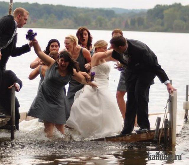 Свежая подборка свадебных приколов