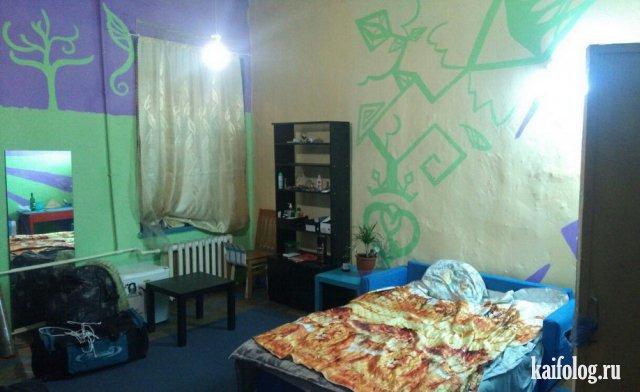 Подборка фотографий адского дизайна квартир